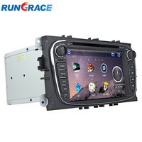 Wince 6.0 double Din 7 Inch Touch Screen Car DVD Player For Mondeo With Car GPS Navigation/ Radio/ Bluetooth