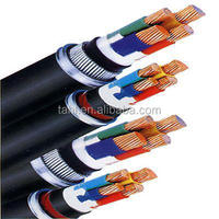 high quality 4 core low voltage armor power cable size and current rating