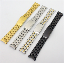 Metal stainless steel band / stainless steel watch strap watch bands / Solid Stainless Steel Bracelte Watch Band