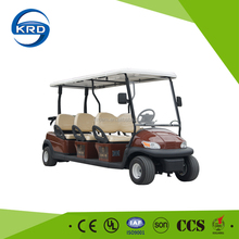High Cost Performance 6 Front Seats Electric Golf Cart With Maintenance Free Battery