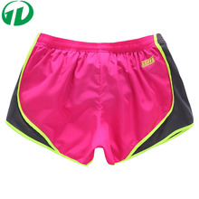 OEM Athletic Apparel Manufacturer women bright color Quick-drying Gym Workout Shorts