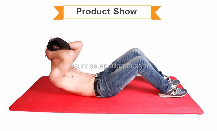 Portable Eco friendly Anti Slip Yoga Mat