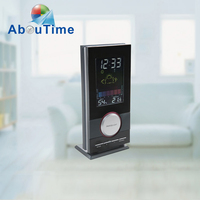 Automatic weather station table clocks
