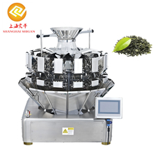 Industrial digital 10 bucket multi head weigher electronic tea bag packing machine