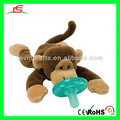 M175 Stuffed Animal Plush Baby Toys with Nipple