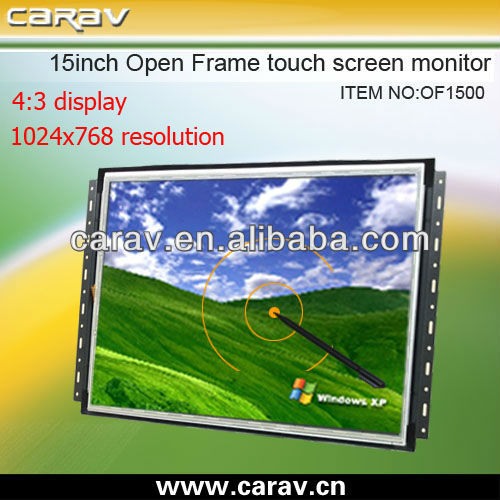 15 inch open frame lft lcd with 1280*1024 resolution