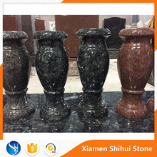 High Quality Granite Gravestone Flower Pot for Cemetery