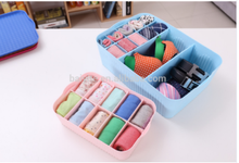 plastic sock storage box, underware storage container