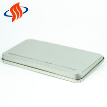 china suppliers custom rectangular cosmetic makeup brushes tin case packaging boxes