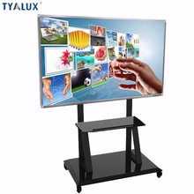 84 Inch Display Interactive White Board 10 points IR multi touch lcd interactive whiteboard