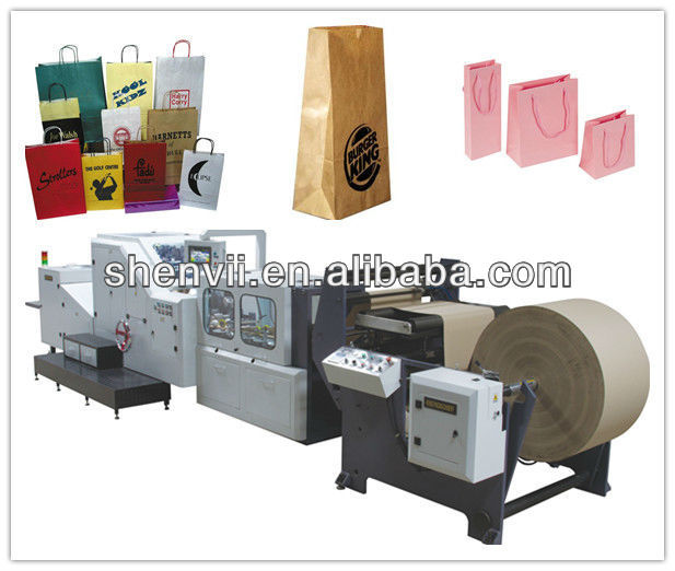 envelope and paper bag making machine