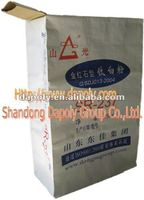 valve gusset woven bag for cement packing
