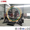 Human Gyroscope Ride For Sale 3d