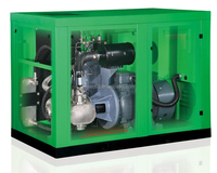 Oil-Free Water Lubricant Screw Air Compressor (120HP,10bar)
