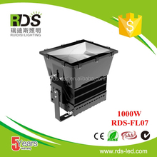 High power COV LED reflector 95lm/w 1000w module led flood light