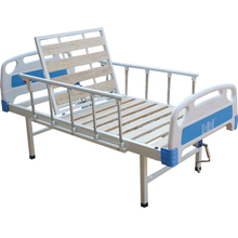 Special Selling low price can be shaken single function portable metal folding ward bed
