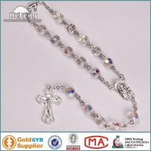 Class car rosary with chirstian cross