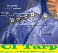 110gsm pp tarpaulin, blue color, truck cover