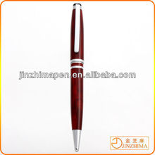Wood grain custom metal pen