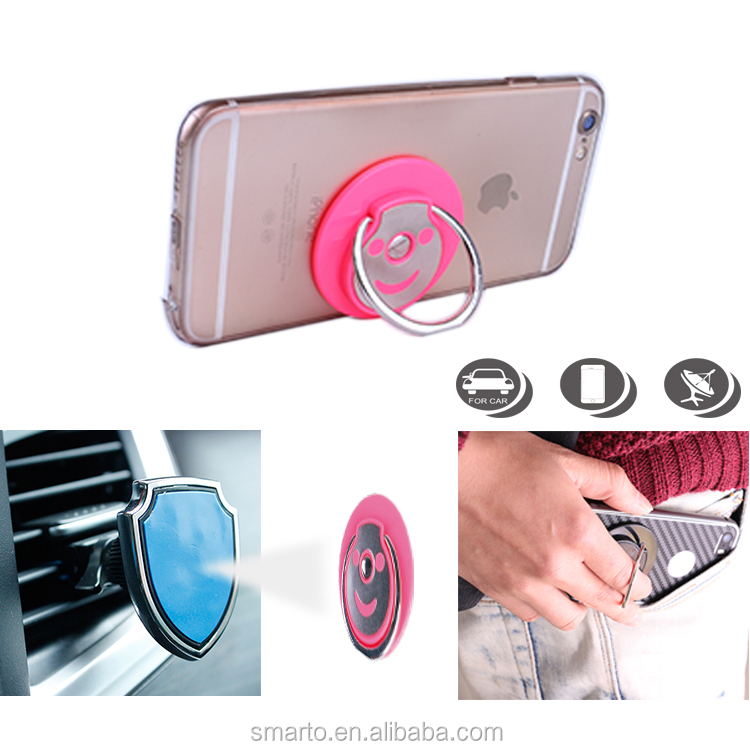 New Reusable 360 Degree Rotation Sticky mobile Ring Stand