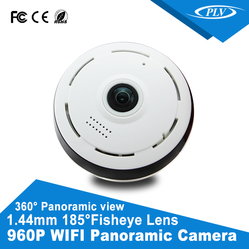 960P PTZ mode optional CCTV Security 360 Degree Panoramic View Fisheye IP Camera with CE FCC RoHS SASO