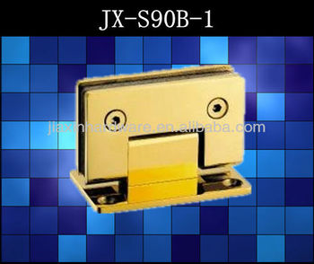 High quality 90degree shower hinges for glass door