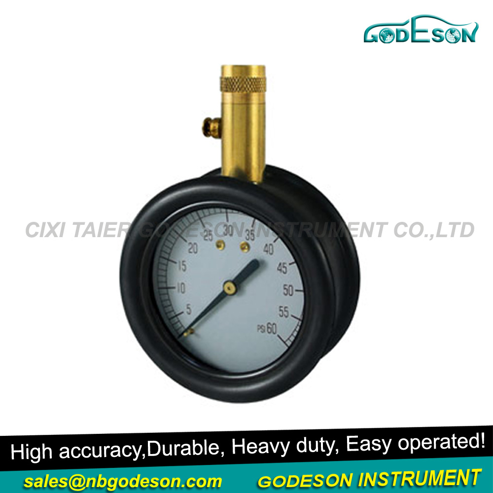 2017 2.5''dial air regulator with dial tire gauge for car