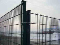 3d Curved Mesh Iron Security Fence