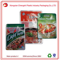 Factory Wholesale rcpp laminated material heat resisting high temperature resistant food bag