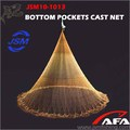 JSM Bottom Pockets Cast Net,Japanese Style Popular All Over The World