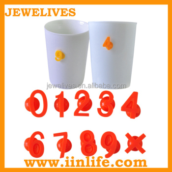 As seem on tv whiskey accessories silicone wine glass charm rings