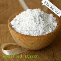 white color modified starch for adhesive