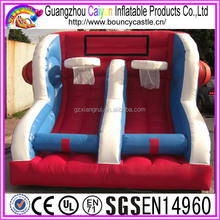 Commercial inflatable games, Inflatable Basketball Hoops Shoot for sale