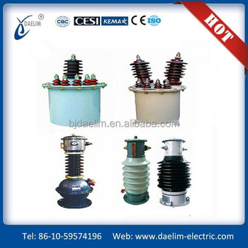 Oil Immersed Outdoor/Indoor Current Transformer 33kv