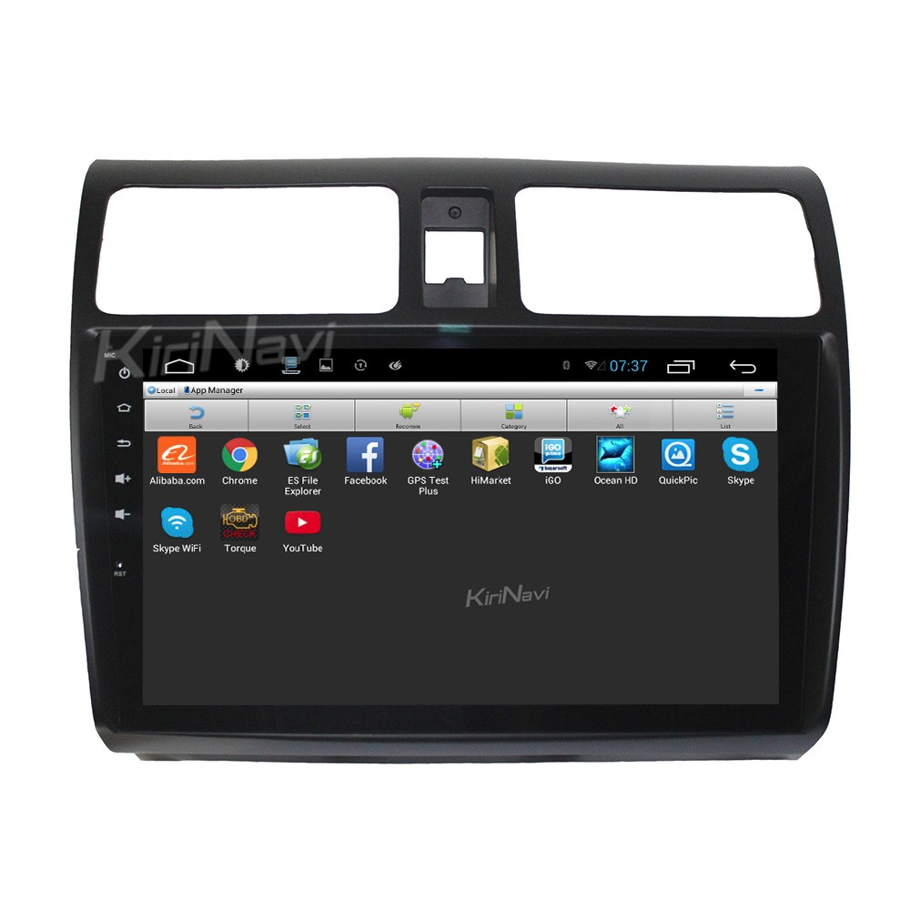 "Kirinavi 10.2"" andriod 6.0 car audio for suzuki swift 2004 - 2010 SWC OBD2"