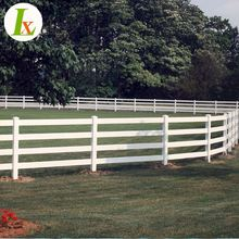Oem Composite Four Rails Horse Fence Panels
