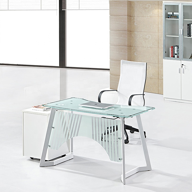 Curved Glass Desk Tempered Glass Computer Table   Buy Computer Table  Design,Desktop Computer Table,Glass Cutting Table Product On Alibaba.com