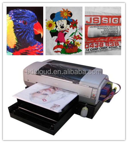 A3 size t shirt making equipment digital printer direct to garment printing machine