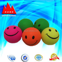 transparent skip bouncy ball toy rubber ball