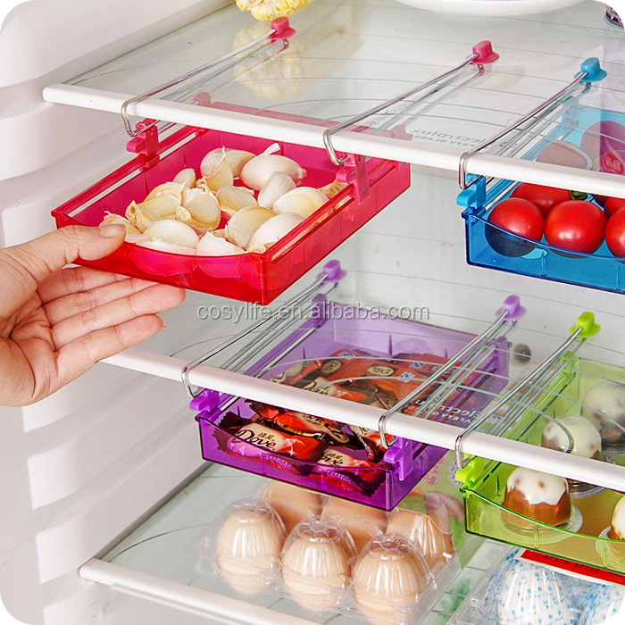 hot sale creative multi drawer storage /plastic storage in refrigeration