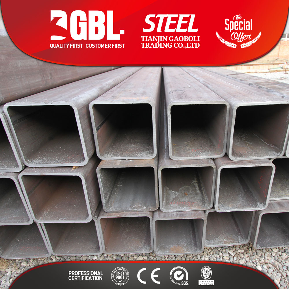 Q345 Q235 SQUARE STEEL TUBING STRENGTH