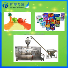 automatic plastic tea bags food sugar sachet snack pouch packing machine