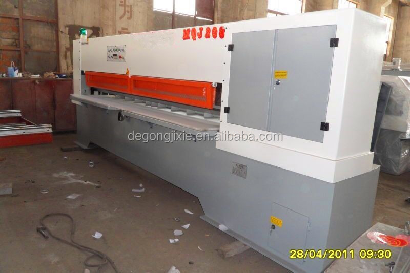 DeGong 8 feet veneer peeling machine/woods peelingmachine/ veneer stitching machine
