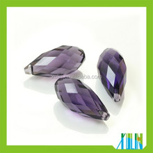 Briolette Teardrop Shape Glass Beads, Jewelry Type Health Pendant Bead