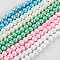 Pearl Beads For Jewelry Making Glass