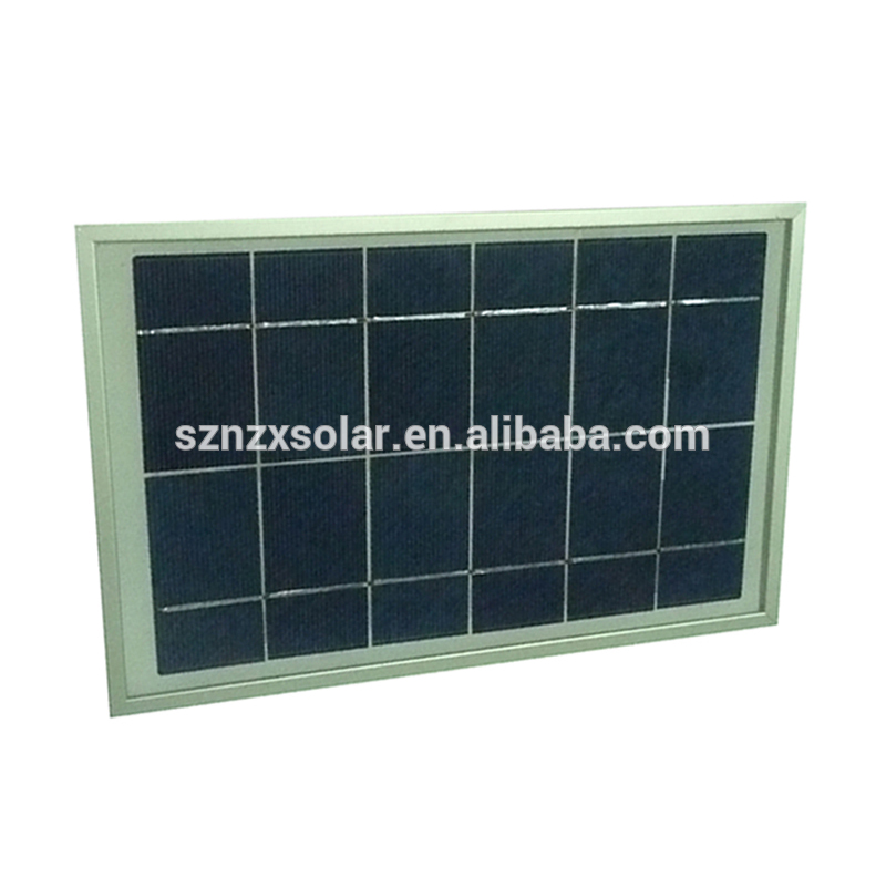 Factory Direct Supplied Good Quality 6W 6V Poly Solar Panel Solar Module