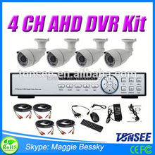 Wholesale 4CH 1080P AHD Kit Rohs Security CCTV Camera Long Range
