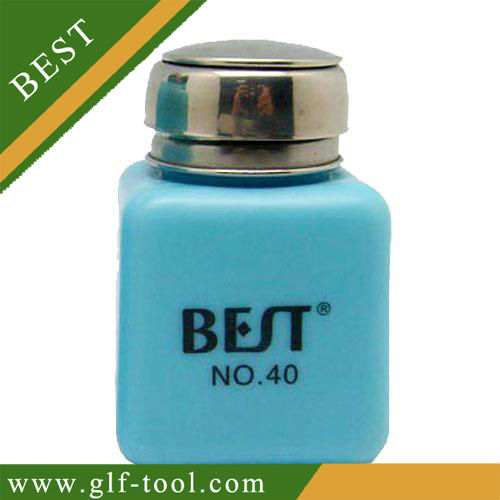 100ml Anti-static plastic alcohol bottle