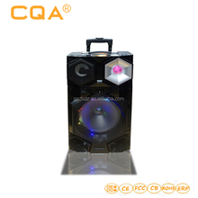 Wholesale outdoor 10 inch sound box karaoke speaker woofer with led light