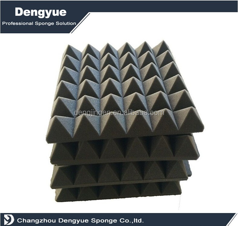 Pyramid Acoustic Foam Panels for KTV sound absorving